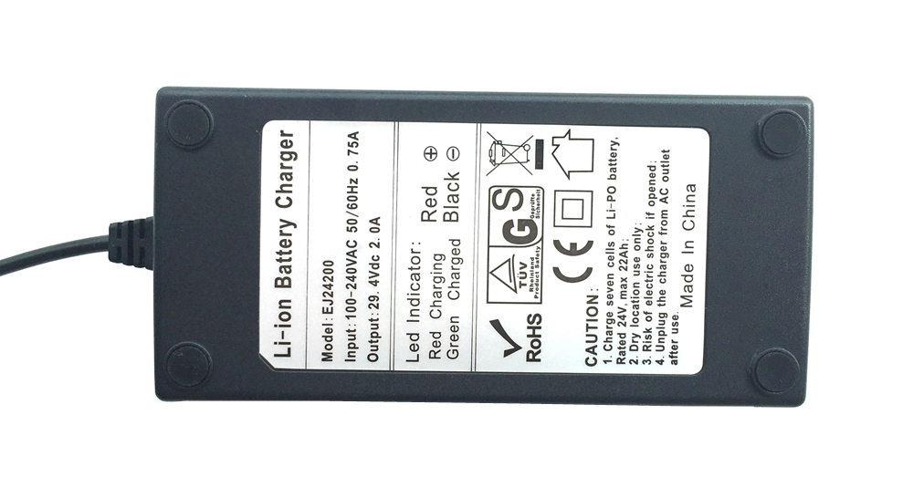 29.4V 2A Li-po battery charger -- Manufacturer of battery fuel gauge ...